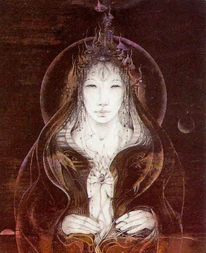 The Beautiful and Beneficent Kuan Yin, illustrated by (the late and great) Susan Seddon Boulet.