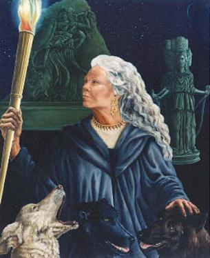 Holy Hecate by THE Sandra M. Stanton